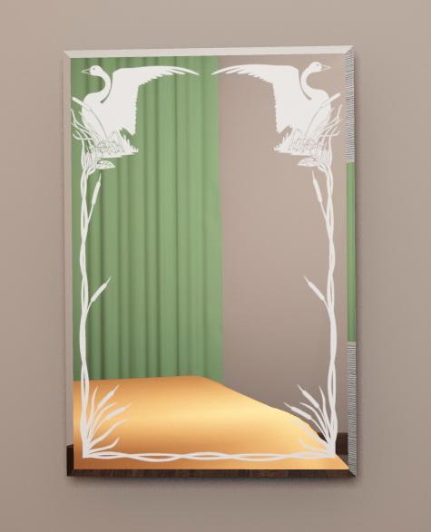 зеркала с рисунком пескоструйным фото