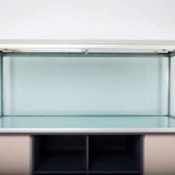 Прямоугольный стеклянный аквариум