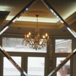 гравировка на зеркале в холле