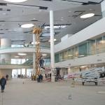 Остекление зала аэропорта Курумоч - работа нашей студии стекла